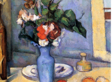 The blue vase - Paul Cézanne