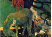Le cheval blanc - Paul Gauguin
