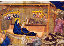 The Nativity - Giotto